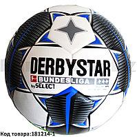 Футбольный мяч Derbystar Bundesliga бело-синий