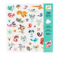 Набор наклеек 'Маленькие друзья', 160 шт