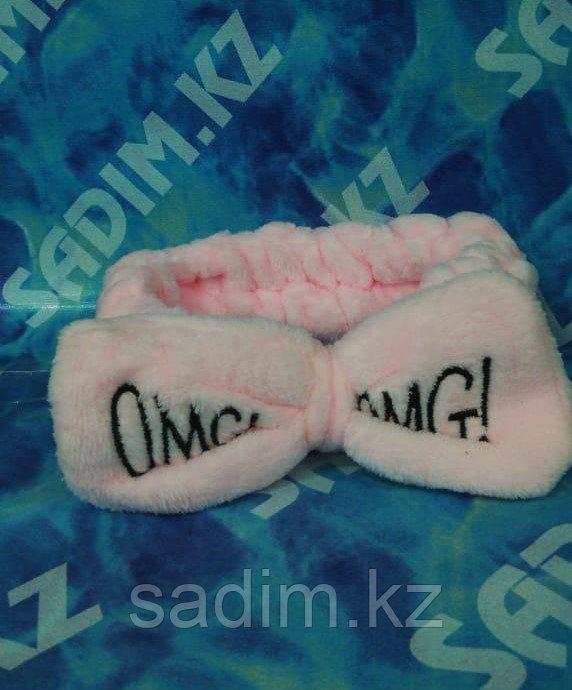 Бант - повязка для волос OMG