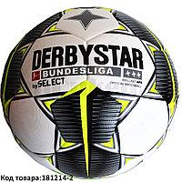 Футбольный мяч Derbystar Bundesliga бело-зеленый