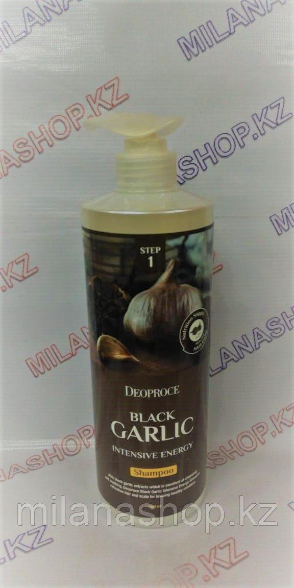 Deoproce Black Garlic Intensive Energy Shampoo 1000 ml  - Шампунь для волос