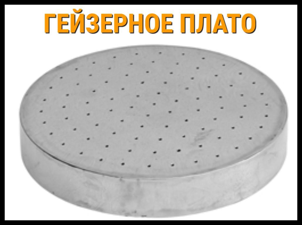 Круглая панель гейзера для бассейна (Диаметр 300 мм.)