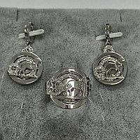 """Комплект с бриллиантами """"Hermes"""""""