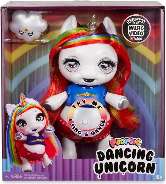Poopsie Surprise Dancing Unicorn Радужный Танцующий Единорог Rainbow Brightstar
