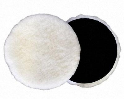 MENZERNA Полировальный круг из натуральной овчины 150 мм.