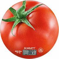 Весы кухонные Scarlett SC-KS57P38, Red