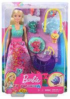 Кукла Barbie Dreamtopia Заботливая принцесса Питомник драконов
