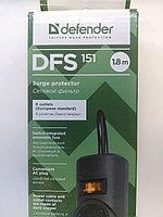 Фильтр сетевой 5 розеток 1,8м DEFENDER