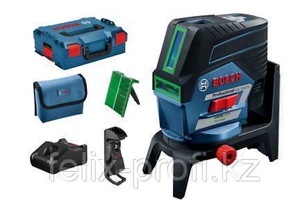 Лазерный нивелир BOSCH GCL 2-50 CG + RM 2 (12 V) + потолочная клипса + L-Boxx
