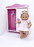 Кукла 28 см + шкаф (Falca, Испания)