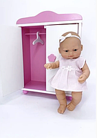 Кукла 28 см + шкаф (Falca, Испания), фото 1