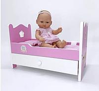 Кукла 28 см + кровать (Falca, Испания)