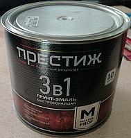 """Грунт- эмаль 3 в 1 быстросохнущая """"ПРЕСТИЖ"""", банка 1,9 кг"""