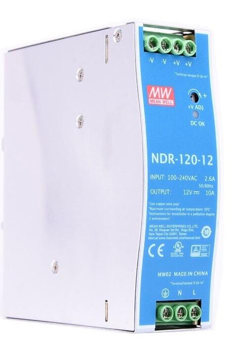 Блок питания Mean Well NDR-120-12