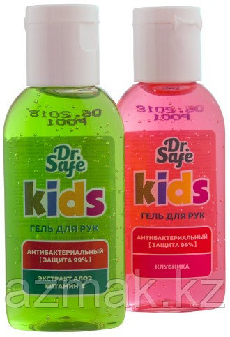 Детские антибактериальные гели и Dr. Safe 60 мл.