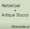Имитация мрамора с покрытием Марбкоат от Террако.