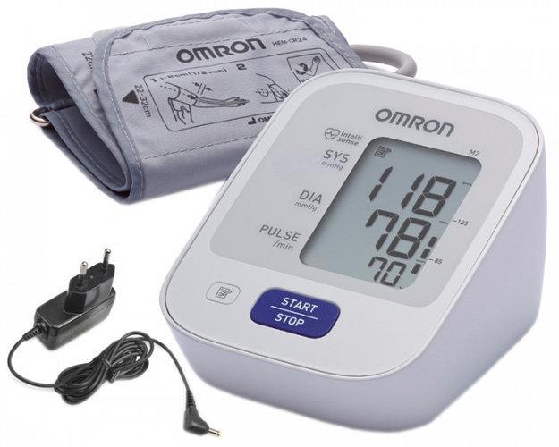Тонометр автомат M2 Basic Omron манжета 22-42 адаптер