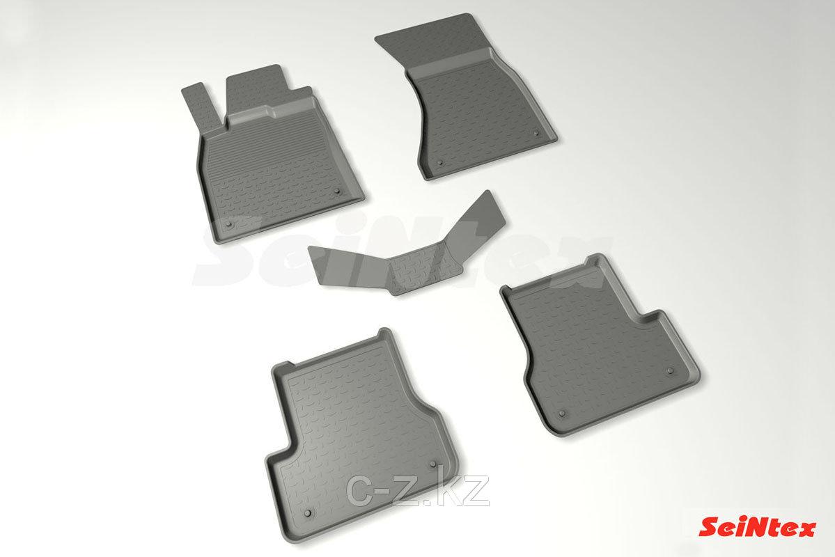 Резиновые коврики с высоким бортом для Audi A6 (C7) 2011-2018