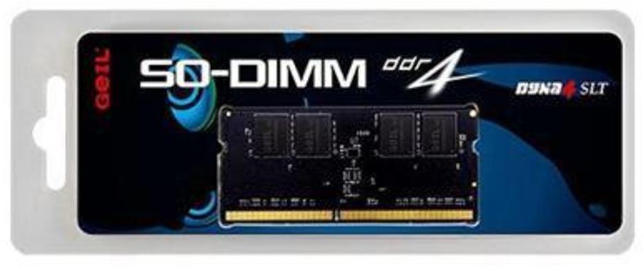 Оперативная память для ноутбука GEIL PC4-19200 4GB (DDR4 2400MHz SO-DIMM 1.2V, GS44GB2400C17S)