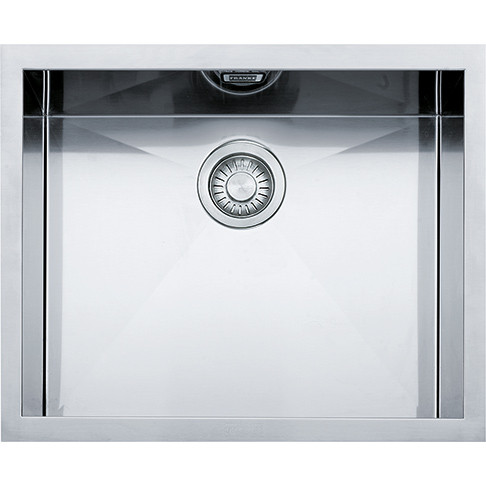 Кухонная мойка Franke под столешницу Planar PPX 110-52 Нержавеющая сталь