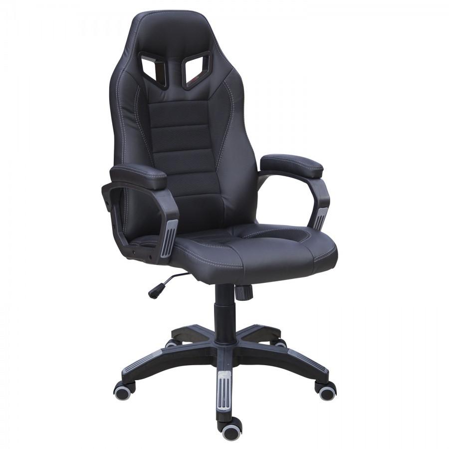 Геймерское (игровое) Офисное кресло Эдвард из кожзама