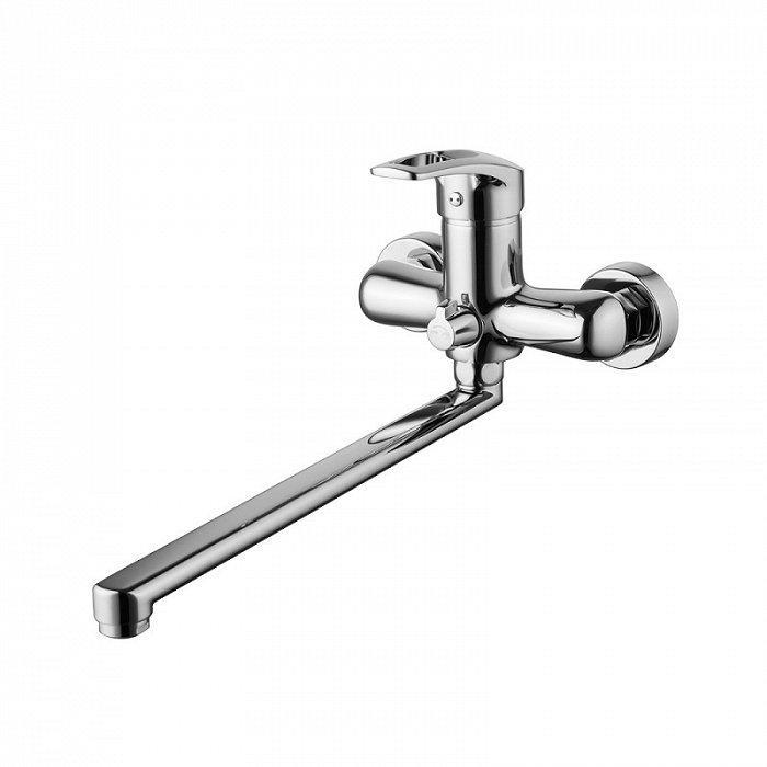 Смеситель IDDIS Carlow Plus для ванны с длинным изливом