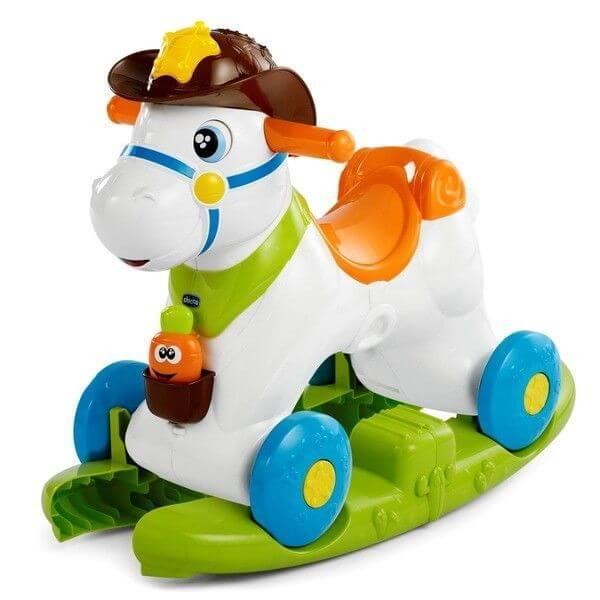 "Chicco: Каталка ""Лошадка Baby Rodeo"" 12м+"