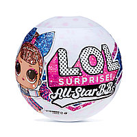 LOL Surprise! Блестящие куклы All-Star BB Sports Series 2 Cheer Team с 8 сюрпризами
