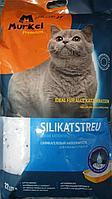 Murkel, Муркель силикагелевый наполнитель для кошек с ароматом скошенной травы, уп. 22л (10кг)