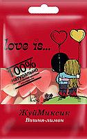 """Мармелад Love Is """"ЖуйМиксик"""", вишня-лимон, 25гр (24шт-упк)"""