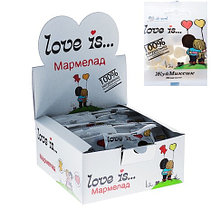 """Мармелад Love Is """"ЖуйМиксик"""" вкус жвачка Bubble Gum 25 г 25гр (24шт-упк)"""