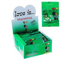 """Мармелад Love Is """"ЖуйМиксик"""", мята-лимон-лайм 25гр (24шт-упк)"""