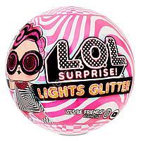 Куклы LoL Lights Glitter светящаяся кукла ЛоЛ Лайтс Глиттер