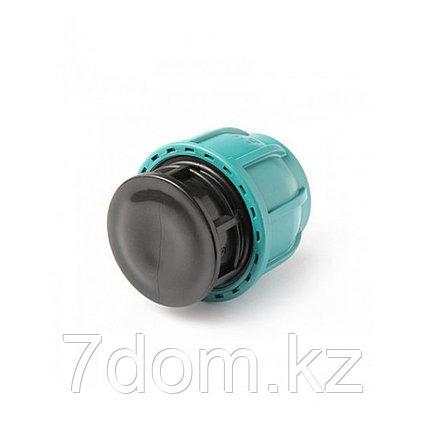 Заглушка компрессионная d110, фото 2