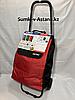 """Хозяйственная сумка-тележка для продуктов""""Спутник"""",на 2-х колесах.Высота 95 см, ширина 36 см, глубина 27 см."""