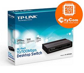 Настольный коммутатор - Switch TP-link TL-SF1016D <16-port10/100Mbit,Desktop Switch, Арт.1396