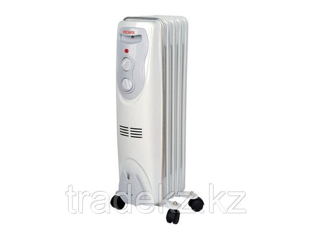 Масляный радиатор, обогреватель ОМ-5Н (1 кВт), фото 2