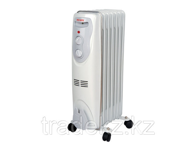 Масляный радиатор, обогреватель ОМ-7Н (1,5 кВт), фото 2