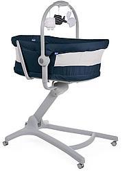 Chicco: Кроватка-стульчик Baby Hug Air 4-в-1 India Ink