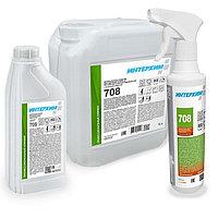 Бескислотное средство удаления налёта и регулярной очистки поверхностей, с защитным эффектом ИнтерХим 708