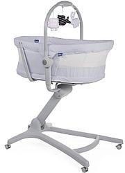Chicco: Кроватка-стульчик Baby Hug Air 4-в-1 Stone