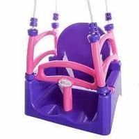 """07550/2 Игрушка для детей """"Качели"""" фиолетовый/розовый"""