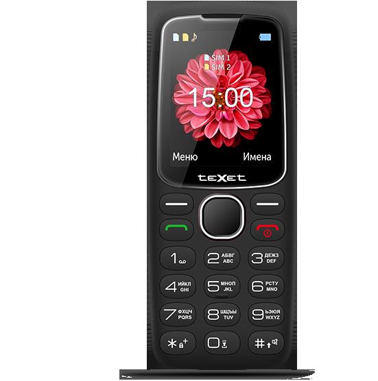 Мобильный телефон Texet TM-B307 черный