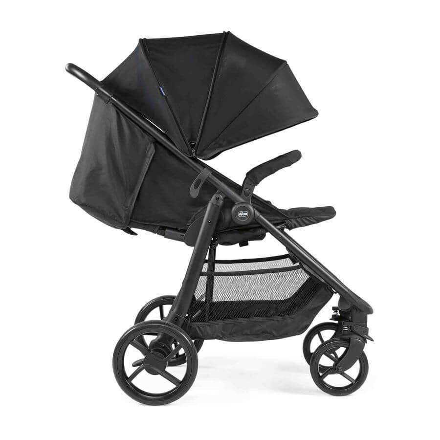 Chicco: Прогулочная коляска Multiride Jet Black
