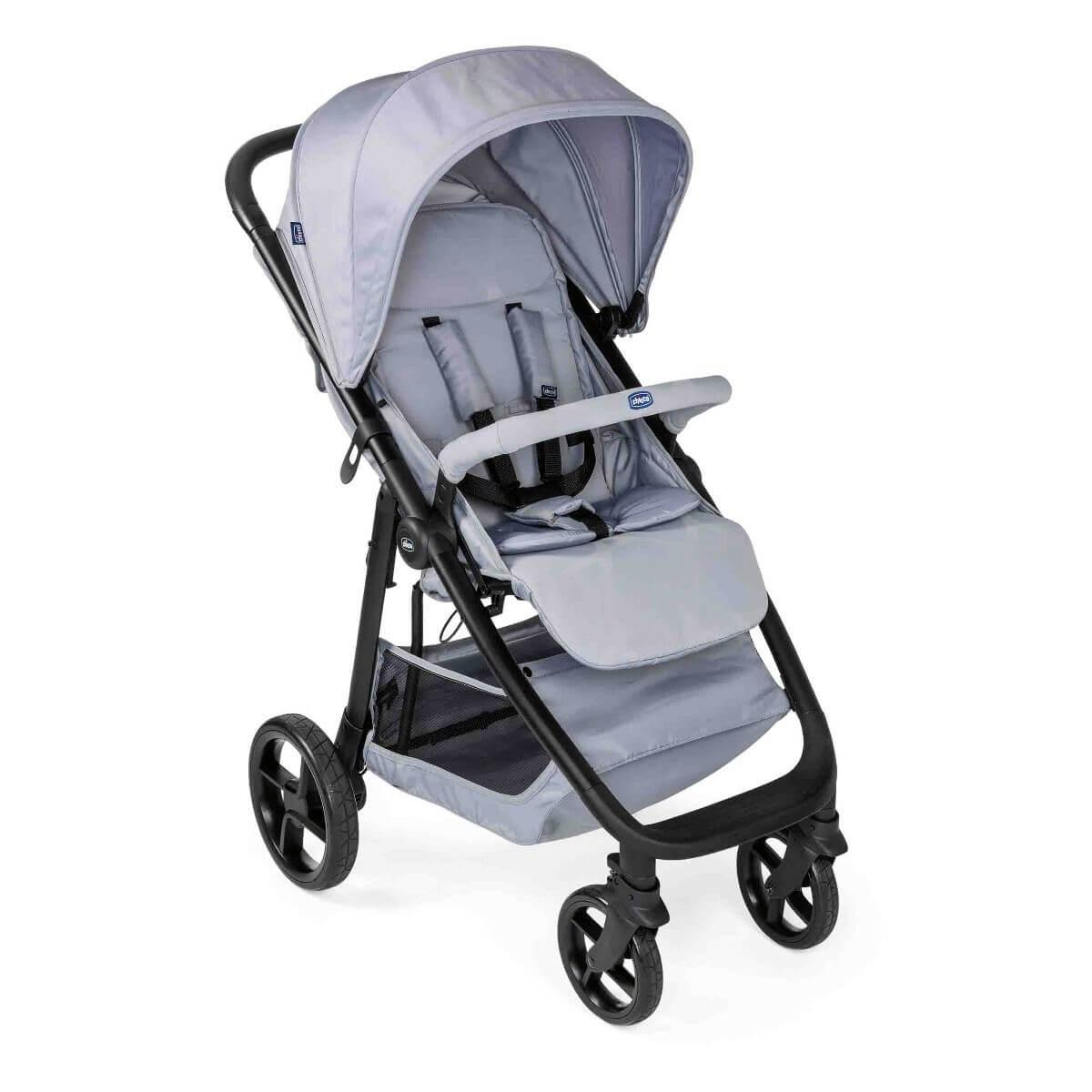 Chicco: Прогулочная коляска Multiride Light Grey