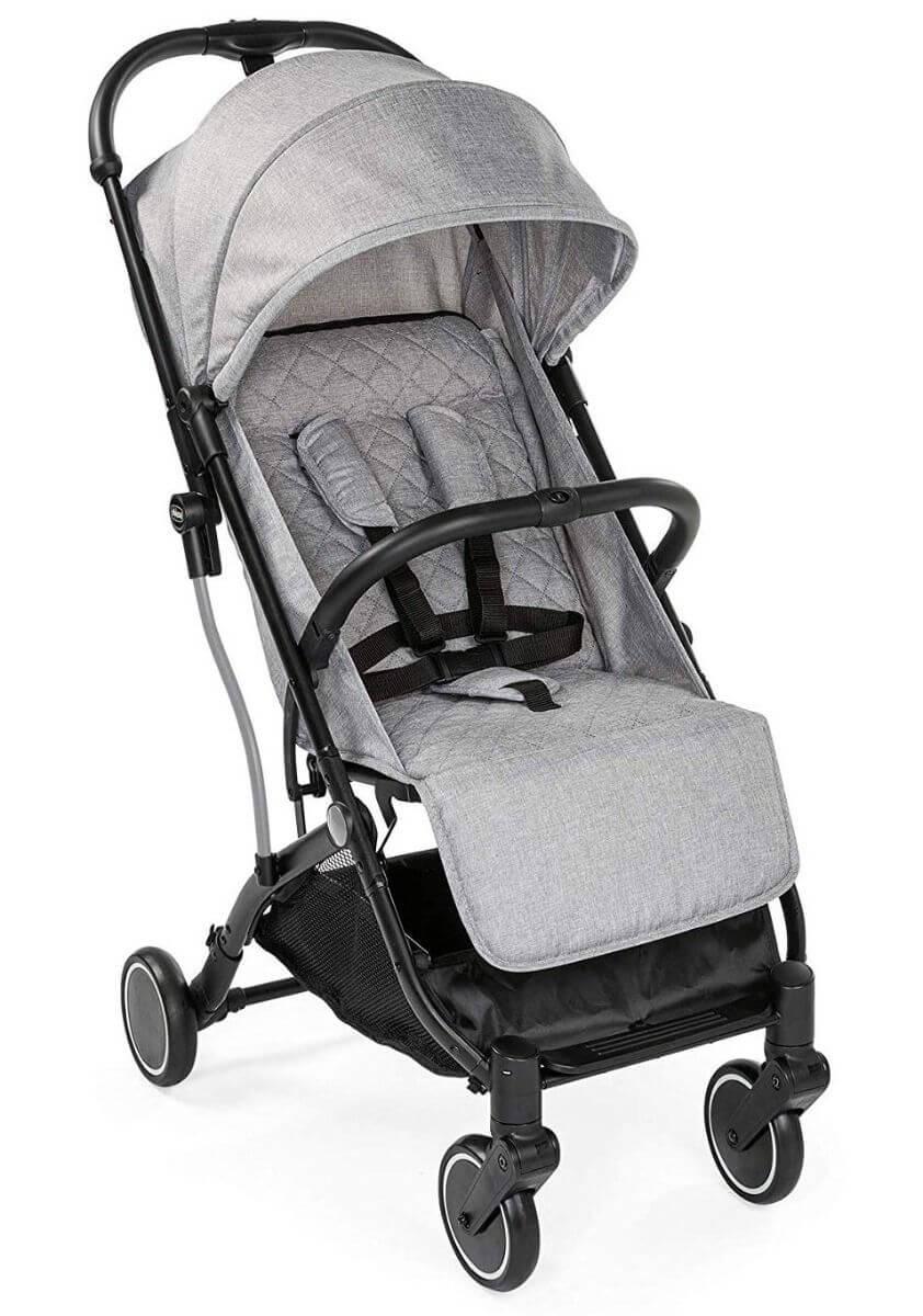 Chicco: Прогулочная коляска TrolleyMe Light Grey
