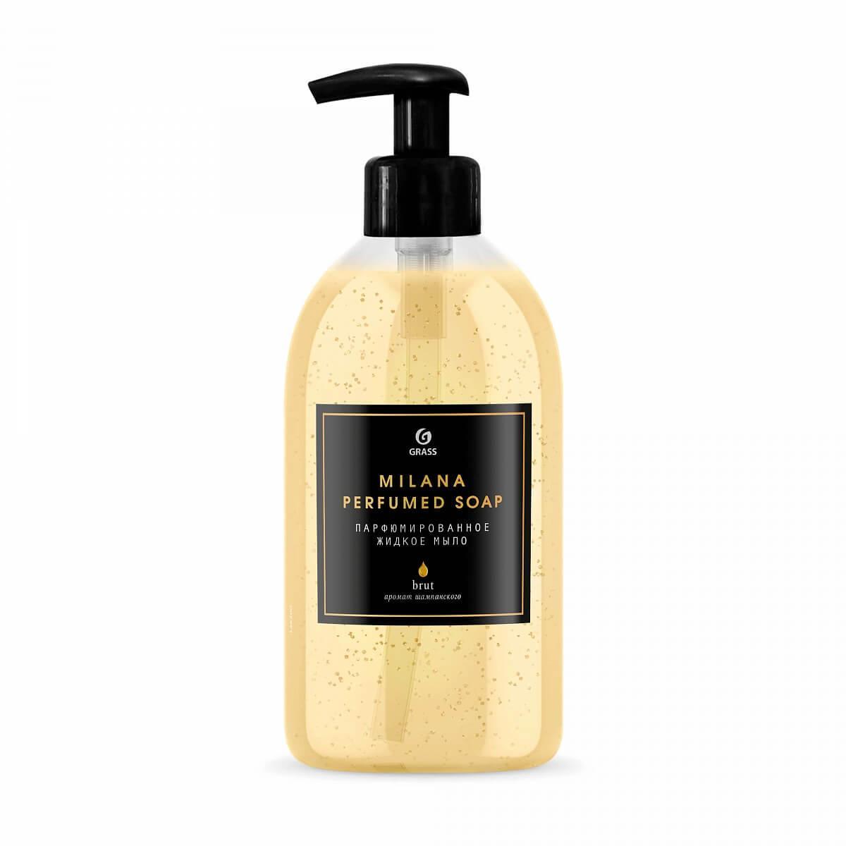 Мыло жидкое парфюмированное Milana Brut
