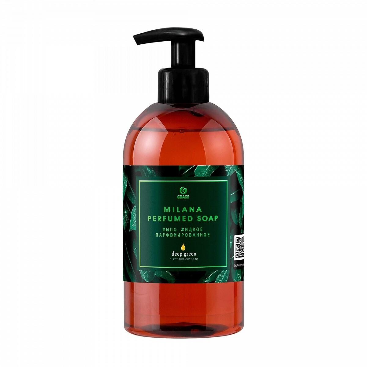 Мыло жидкое парфюмированное Milana Green Deep
