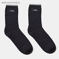 Носки мужские махровые QUARTET, цвет тёмно-серый, размер 29-31