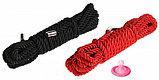 Веревка для связывания  10 метров (цвет черный, розовый), фото 3